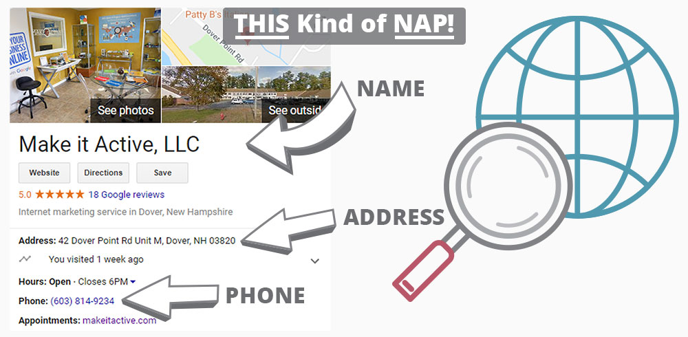 local-seo-nap2 Local SEO / NAP Services - Make it Active, LLC