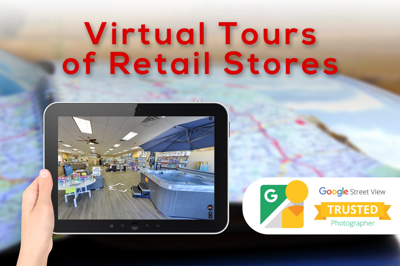 RETAIL STREET VIEW VIRTUAL TOURS Services - Make it Active, LLC
