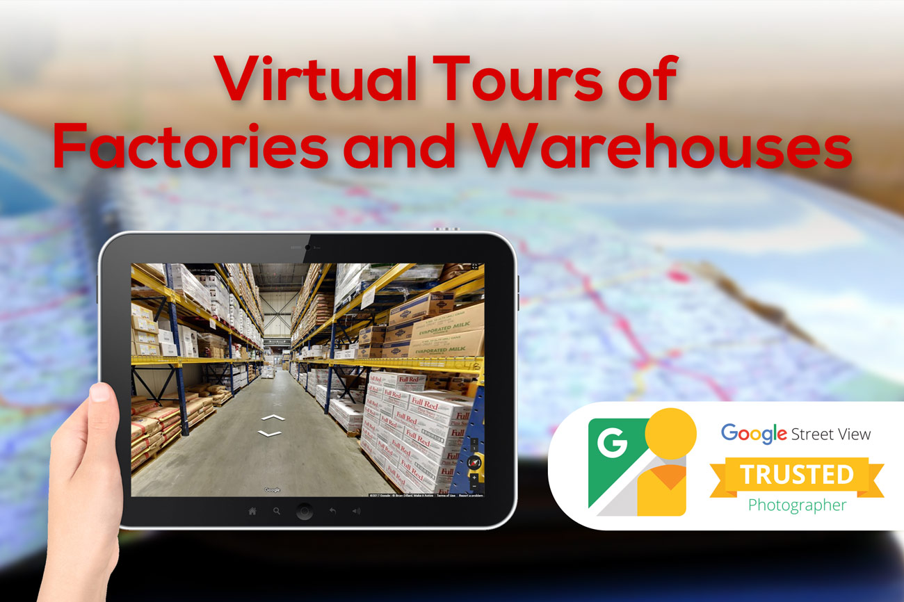 WAREHOUSE STREET VIEW VIRTUAL TOURS Services - Make it Active, LLC