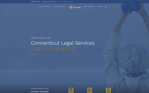 attorney-website Website Design Portfolio - Make it Active, LLC