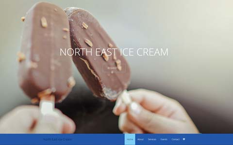 ice-cream-website-design Website Design Portfolio - Make it Active, LLC