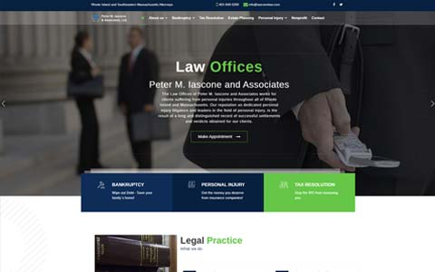 lawyer-website-design Website Design Portfolio - Make it Active, LLC