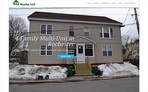 website-design-real-estate Website Design Portfolio - Make it Active, LLC
