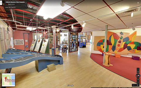 museum Google Street View Virtual Tours - Make it Active, LLC